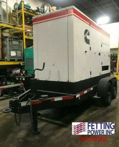 230kW Terex Cummins Mobile Diesel Generator T270C | S/N: T27008-000145