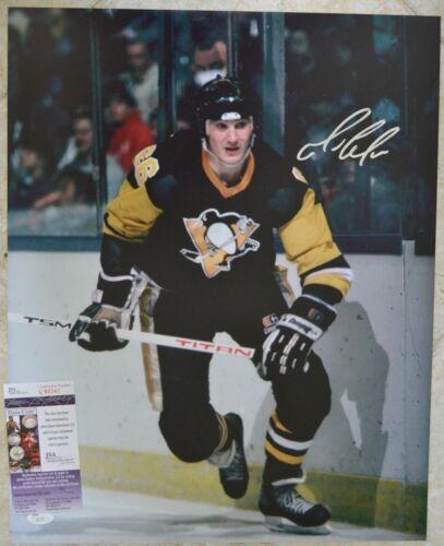 Mario Lemieux Signed 16x20 Photo w/ JSA COA #V80341 Pittsburgh Penguins