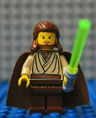Lego Star Wars Qui-Gon Jinn 7101 Mini Figure