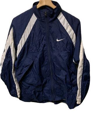 VTG 90's Nike Men's Windbreaker Vented Jacket Size Large