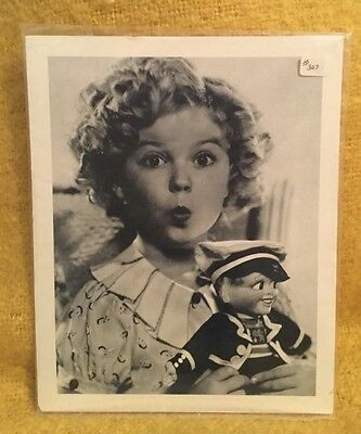 3 Shirlie Temple 8 x 10 black and white prints