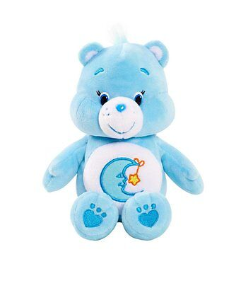 CARE BEARS BEDTIME BEAR SMALL BEANBAG PLUSH BRAND NEW WITH TAGS