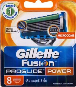 Gillette Fusion PROGLIDE Power $20 per 8 blade pack