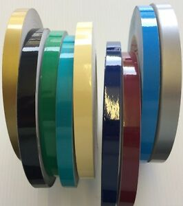Coach Line   Pin Stripe Tape   25mm   BOAT/CAR/BIKE   Colour Choice  Water Proof