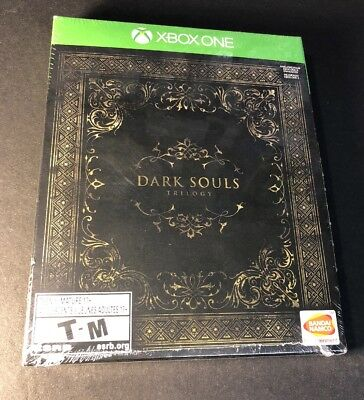 Dark Souls Trilogy [ 3 Game Disc in 1 STEELBOOK Package ] (XBOX ONE) NEW comprar usado  Enviando para Brazil