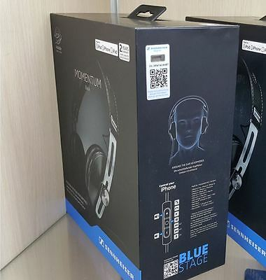 NEW Sennheiser Momentum 2.0 M2 AEI Over the Ear Stereo Headphone Black