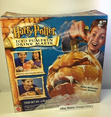 *Vintage* Harry Potter Iced Pumpkin Halloween Party Drink Maker - Mattel 2002](Harry Potter Halloween Pumpkin)