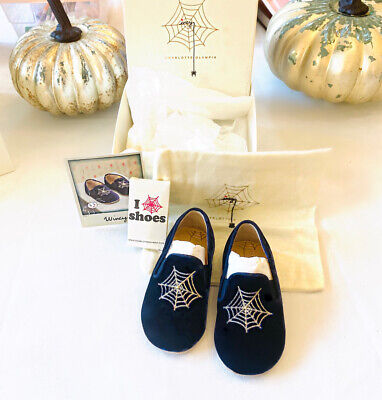 NEW! Girls Charlotte Olympia Incy Wincy Style Shoes Retail $198