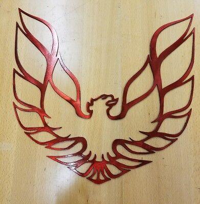 Firebird logo metal wall art plasma cut sign gift idea trans am pontiac Metal Art Sign