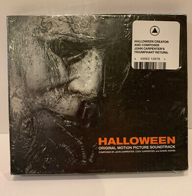 Halloween 2018 Original Soundtrack CD John Carpenter Michael Myers Horror Music