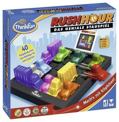 Ravensburger ThinkFun Rush Hour Spiel-Smart Game Konzentrationsspiel Ab 8 Jahren