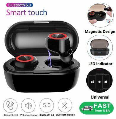 Bluetooth 5.0 Wireless Earbuds Earphone In-Ear Stereo Sweatproof Headphone TWS