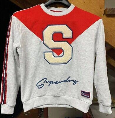 Superdry Japan Crewneck Sweatshirt; Mens Medium; Spelled Out; Hypebeast Clothes