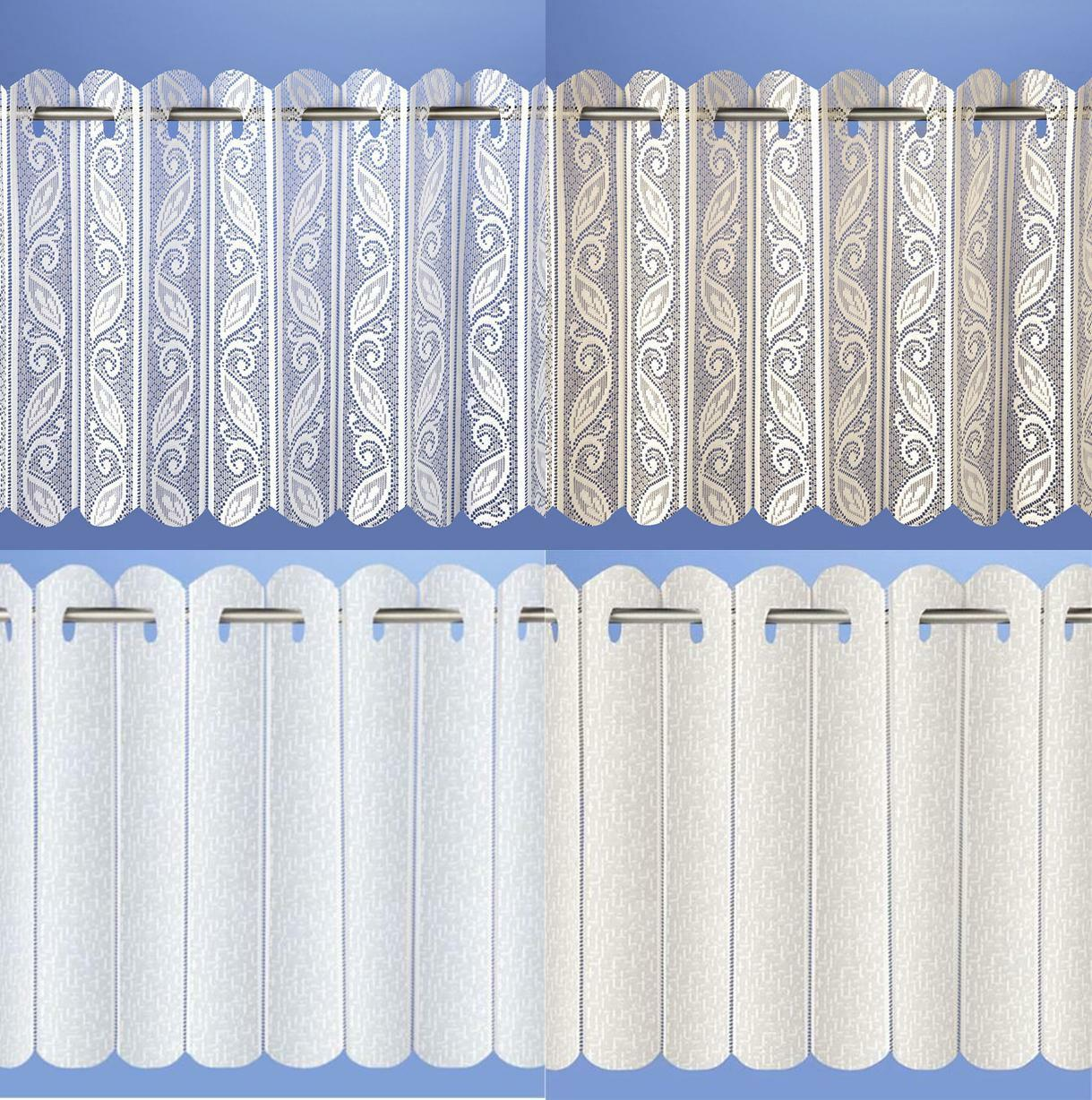 Lace Net Voile Louvre Vertical Pleated Window Blind Panel