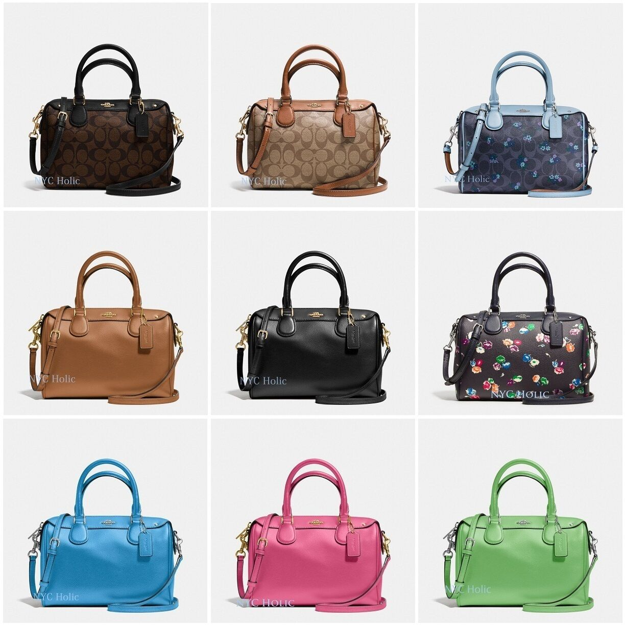 Coach - New Coach F36624 F58312 Mini Bennett Satchel In Crossgrain Leather Or Canvas
