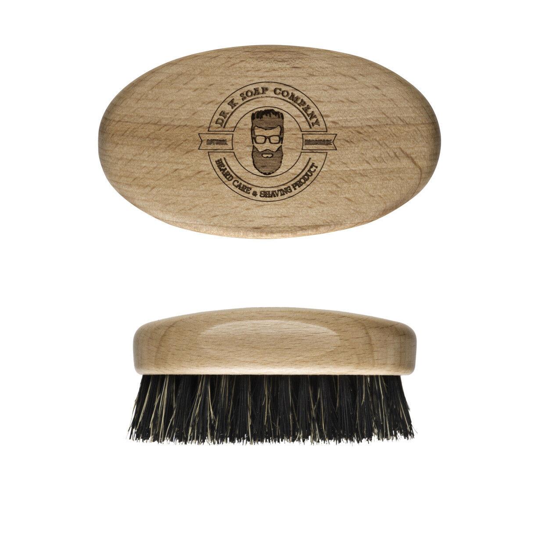 Spazzola da Barba Piccola Dr K Ovale per Pettine Barbiere Professionale