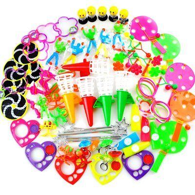 AmyBenton 80 PCS Pinata Filler Carnival Prize Toy Assortment Treasure Box Party