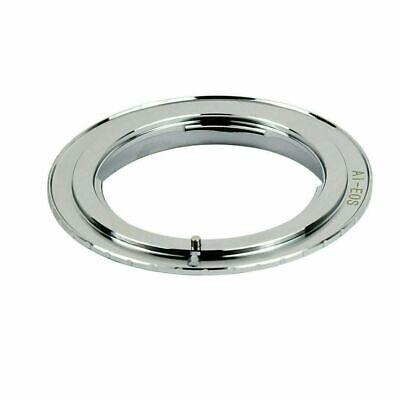 Nikon Al F Lens to Canon EOS Body Adapter EF Rebel Camera Mount Converter Ring