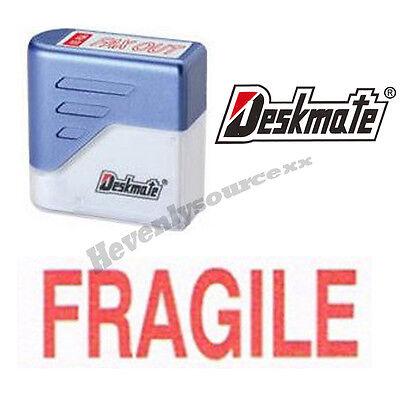 Fragile Deskmate Red Pre-inked Self-inking Rubber Stamp Ke-f01a