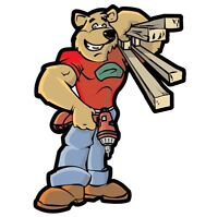 HANDYMAN on call this long weekend! BE THERE IN A HURRY!