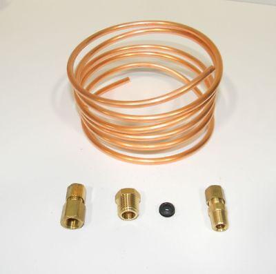 Copper Tubing Kit - Oil Pressure Gauge Copper Tubing Kit 3/16