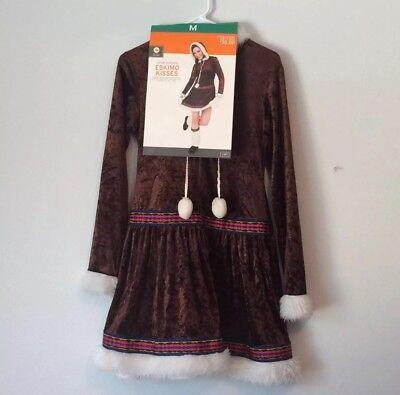 Eskimo Outfit (Women's Female Adult Eskimo Cutie Halloween Costume Outfit)
