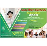 Credit Courses/ Tutoring/ Full Time/ Online Courses