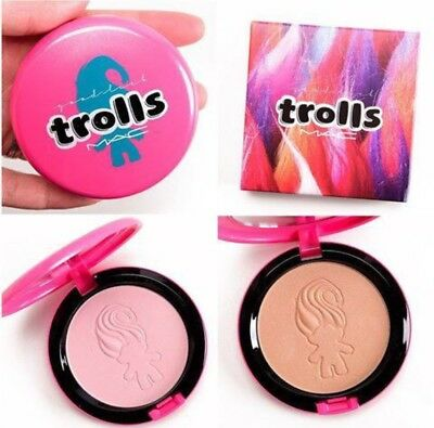 Mac Beauty Powder Blush (MAC Trolls Beauty Powder BNIB & HTF. Highlighter/blush/overall Finish X 2)