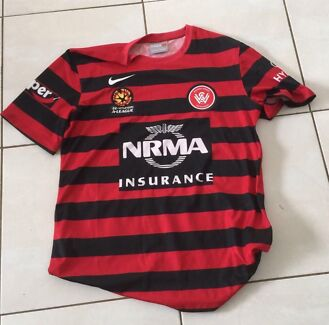 BRAND NEW NIKE WESTERN SYDNEY WANDERERS HOME JERSEY Size Large