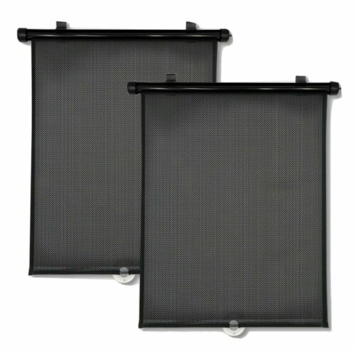 GO by Goldbug Roller Shades from Sunlight & Heat Fit most Vehicles - 2 Pack