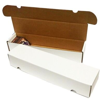 (50) 800 COUNT BASEBALL TRADING CARD MAX PRO CARDBOARD STORAGE BOXES
