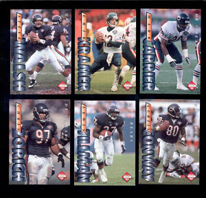 1995-CE-Chicago-Bears-Set-MARK-CARRIER-ERIK-KRAMER-STEVE-WALSH-CURTIS-CONWAY