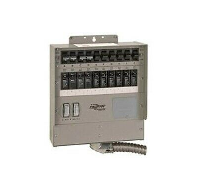Reliance Controls 510c Generator Transfer Switch 50 Amp 120 Volt