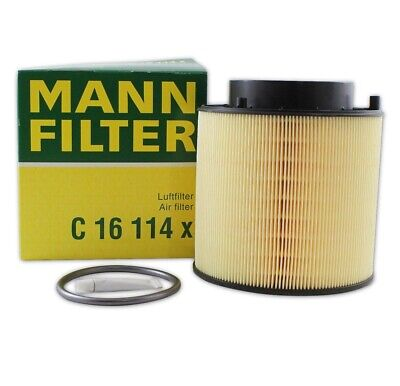 NEW Air Filter Mann For Audi A4 A5 Quattro Q5 S5 S4 SQ5 3.0 4.2 V6 V8