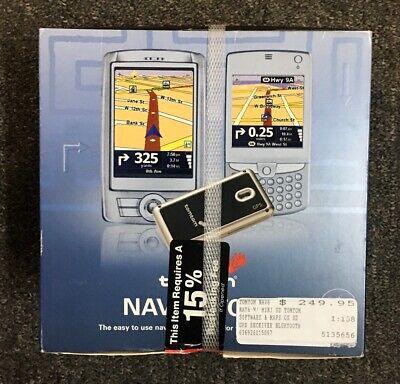 New Tomtom Navigator 6 GPS Receiver for PDA & Smartphone NEW