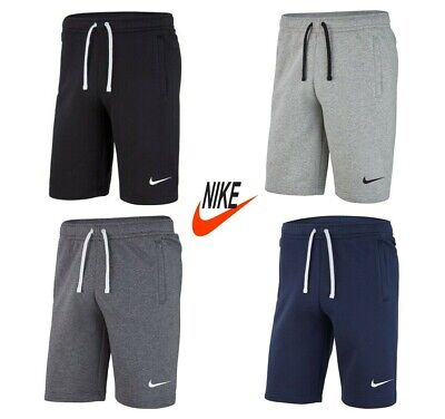 Nike Mens Shorts Club 19 Fleece Sweat Gym Running Cotton Short Pockets Size