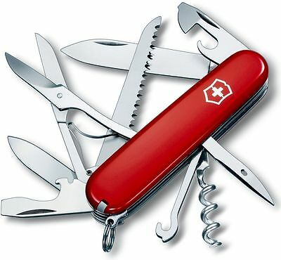 Swiss Army Knife, Huntsman, Red, Victorinox 53201, New In Box
