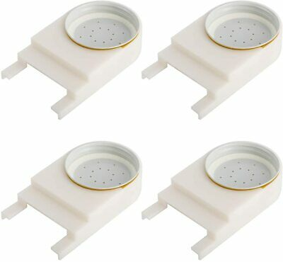 4pcs Honey Bee Feeder And Lid For Feeding Bees Water Or Sugar Syrup Us Free Ship