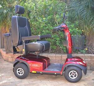 Invacare Comet HD Heavy Duty Red Mobility Scooter with Extras Gosford Gosford Area Preview