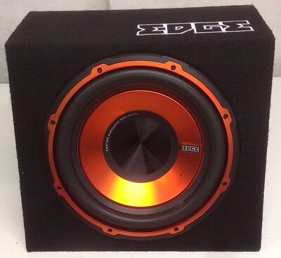 EDGE 12 ACTIVE ENCLOSURE SUB AND AMP BUILT IN VERSION 2 EDB12A-E2