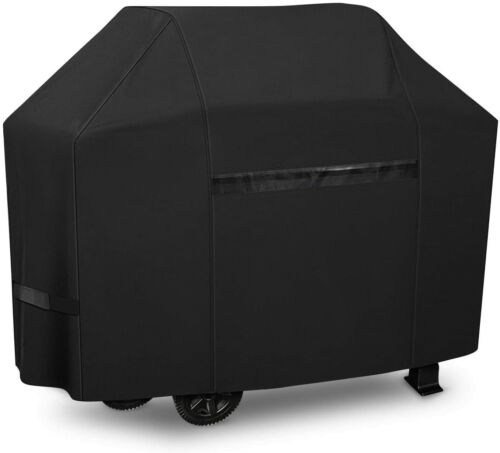 iCOVER 60 inch 600D Heavy-Duty waterproof BBQ Barbecue Smoker Grill Cover