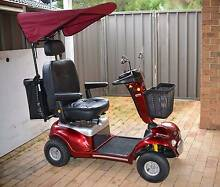 Shoprider Rocky 6 Deluxe Large Mobility Scooter Red Excel Cond Kariong Gosford Area Preview