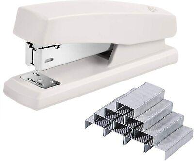Plastic Full Strip Desktop Stapler Office With 640 Staples 25 Sheet Capacity