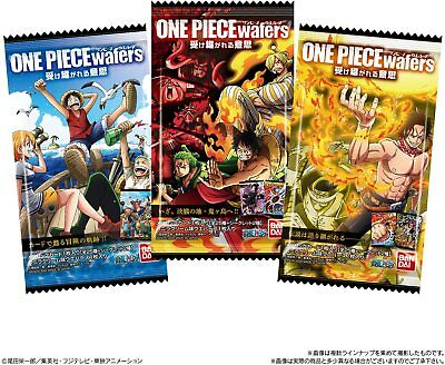BANDAI ONE PIECE wafers ( 1 card contains in package )
