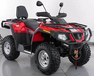 Crossfire Ranger 600 ATV Quad Bike 4 x 4 Winch Diff lock Prestons Liverpool Area Preview