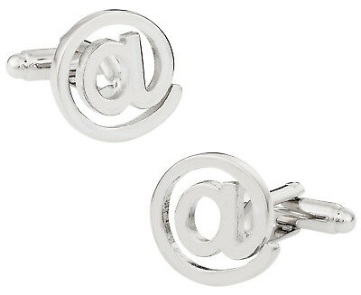 Symbol Cufflinks Cufflinks - At @ Symbol Cufflinks Direct from Cuff-Daddy