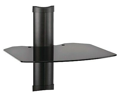 Omnimount Tria 1 B 1-Shelf Wall Furniture - Black/Dark -