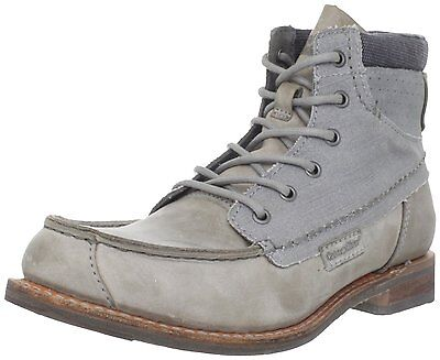 - Caterpillar JAMES- Mens Casual Boots - Legendary RAW Collection - Light Charcoal