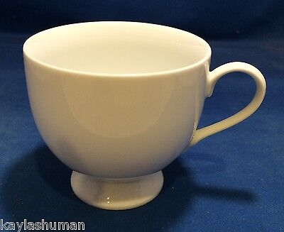 Mikasa Classic Flair White Cup(s) Embossed Calla Lilies K1991 Classic Flair White Cup