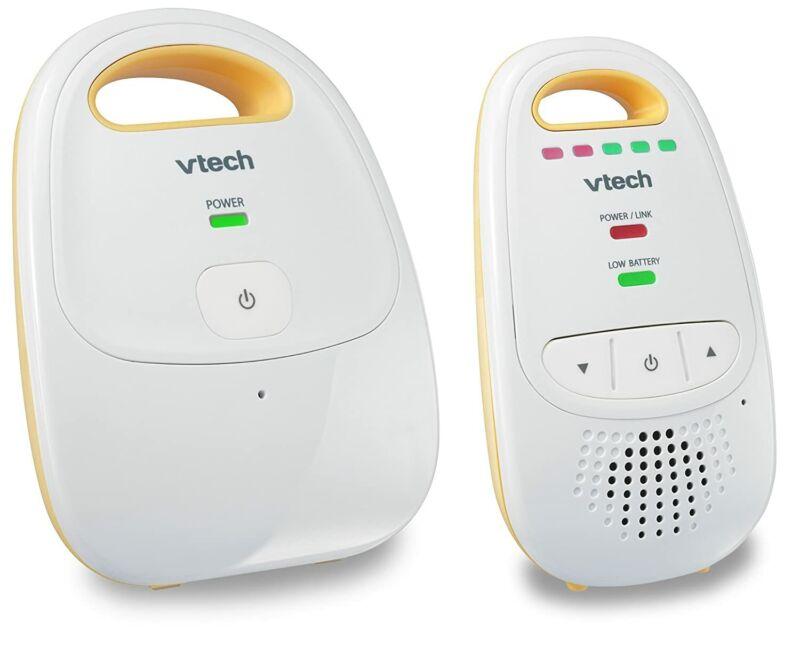Audio Baby Monitor with up to 1,000 ft of Range, 5-Level Sound Indicator